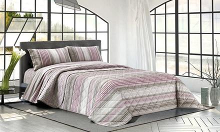 Completi lenzuola letto righe marea