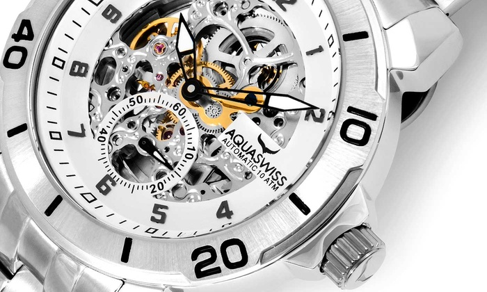 Aquaswiss Automatic COG Watch Collection from £128.99