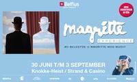 Family-ticket Magritte Experience en face du casino de Knokke