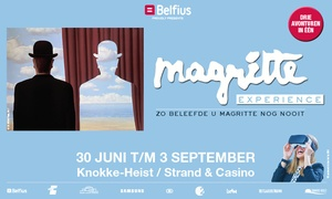 Magritte Experience: Family-ticket voor de Margritte Experience voor € 39,95 tegenover Knokke Casino