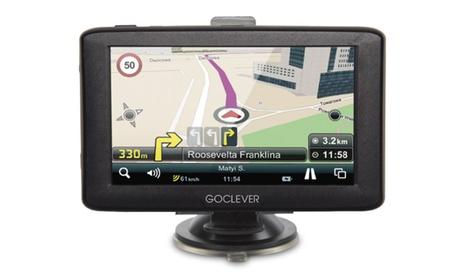GPS GoClever Navio 430 con pantalla de 4,3 pulgadas y mapas de toda Europa