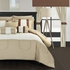 Knightsbridge Bed-in-a-Bag Set with Sheets and Window Decor (20-Piece)