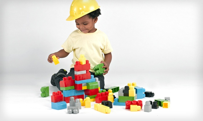150-Piece Plastic-Block Set with Tote: $15 for a 150-Piece Plastic-Block Set with Vinyl Tote Bag ($39.99 List Price). Free Shipping.