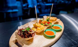Thaikhun: Two-Course Thai Meal with Wine for Two or Four at Thaikhun (Up to 60% Off)