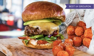 The District: Burgers, Shakes, and Sides for Two, Four, or Six at The District (51% Off)