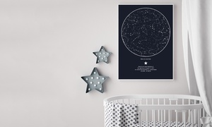 International Star Registry: Stampa di una mappa stellare per ricordare un momento magico con International Star Registry (sconto 41%)