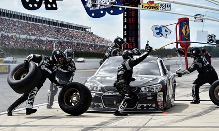 Pocono 400 Monster Energy NASCAR Cup Series Race with FanVision Rentals, Snacks, and Sodas for Four on June 11 at 8 a.m.