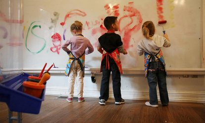 image for One or Three Month Single Membership for One Child or One Family's Children at Art Beast (Up to 52% Off)