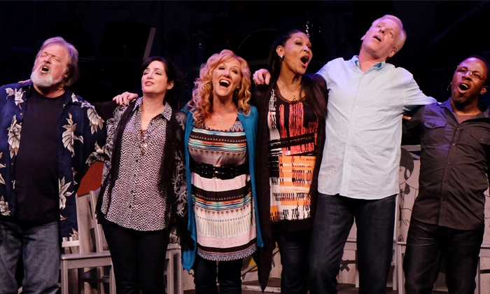 """""""Boomers: The Music Revue of a Generation"""" - Horton Grand Theatre: """"Boomers: The Music of Revue of a Generation"""" at Horton Grand Theatre Through October 12 (Up to 55% Off)"""