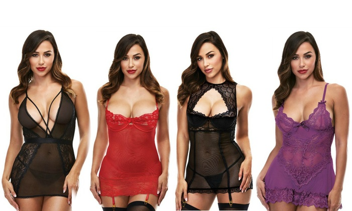 7c43a4af58e1 Up To 11% Off on Baci Chemises or Mini Dresses | Groupon Goods