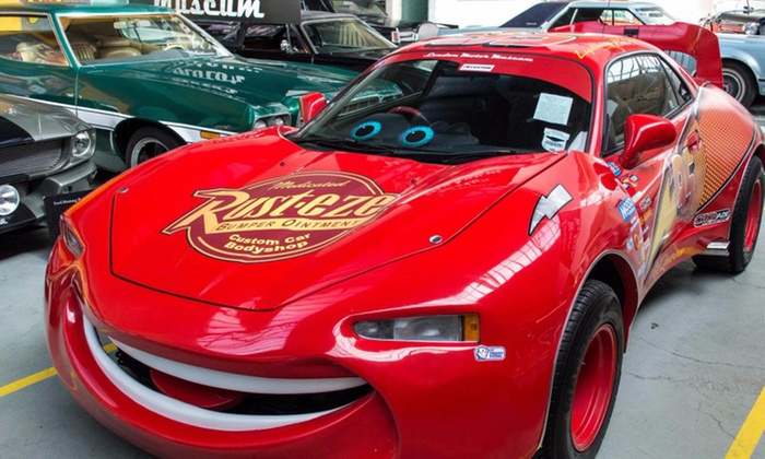 London Motor Museum - London Motor Museum: Standard, Family or Father's Day Promotion Ticket to the London Motor Museum (Up to 78% Off)
