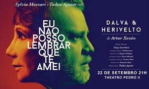 """Veiga Produções Artísticas: Musical """"Eu não posso lembrar que te amei"""" – Theatro Pedro II"""