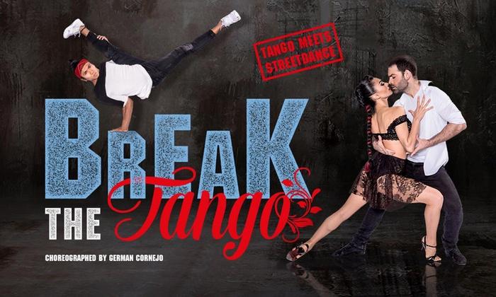 """1 Ticket für """"Break the Tango – Tango meets Streetdance"""" vom 31.8. - 3.9. auf Kampnagel K6 Hamburg (bis zu 40% sparen)"""