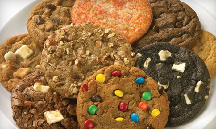 """Great American Cookies - Castleton: 16"""" Cookie Cake or $10 for $20 Worth of Cookies, Brownies, and Baked Goods at Great American Cookies"""