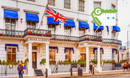 London: Double Room for Two with Breakfast and a MainCourse Dinner at 4* London Elizabeth Hotel