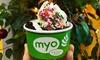 20% Cash Back at MYO Pure Frozen Yogurt