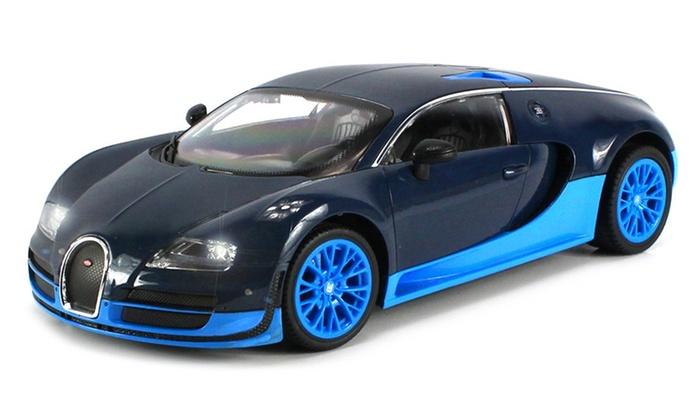 bugatti veyron rc 1 16 scale car groupon goods. Black Bedroom Furniture Sets. Home Design Ideas