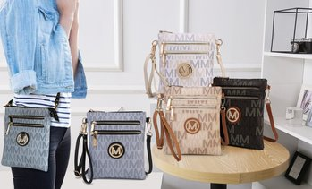 MKF Collection M Signature Crossbody Bag