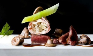 """Vivendum: """"Sense And Taste Menu"""" aperitief, 3 verfijnde amuses en 5 gerechten bij 1* Michelin Restaurant Vivendum voor 59€"""
