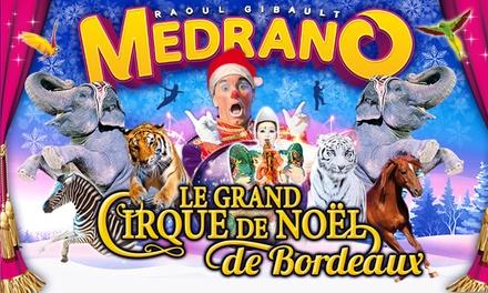 1 place en tribune d'honneur pour l'une des représentations d'« Aladin et les 1001 nuits » du cirque Medrano à 10 €