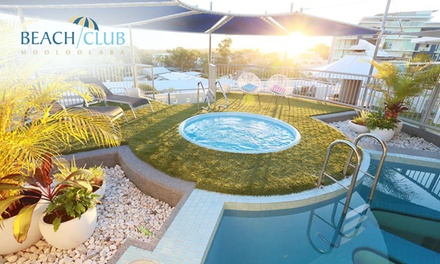Sunshine Coast: 2, 3, or 5 Nights for Two People with Brekky Basket, Wine and Late Check-Out at Beach Club Mooloolaba
