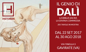 Il genio di Dalì: Il genio di Dalì: ingressi alla mostra presso Historian Gallery di Varese (sconto fino a 50%)