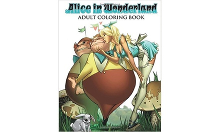 Alice in Wonderland Adult Colouring Book for £8.98