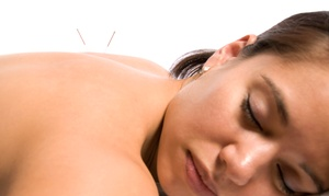 Red Aspen Community Acupuncture: Initial Consultation and One or Three Acupuncture Treatments at Red Aspen Community Acupuncture (Up to 64% Off)