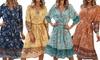 Women's Brie Midi Dress