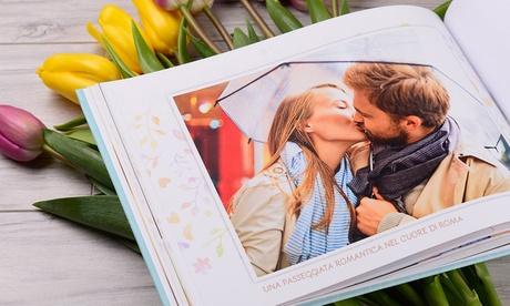 Fino a 3 fotolibri personalizzabili da 28, 40, 60 o 80 pagine con copertina rigida offerti da Colorland