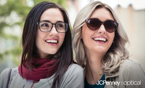 81% Off Prescription Eyeglasses or Prescription Sunglasses at JCPenney Optical, plus 6.0% Cash Back from Ebates.