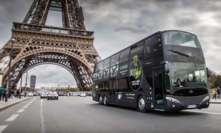 Déjeuner rive gauche ou dîner by night avec coupe de champagne pour 2 personnes dès 129 € à bord du Bus Toqué