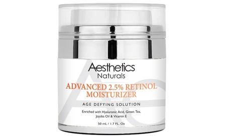 Aesthetics Retinol 2.5% High Potency Anti-Aging Cream (1.7 Fl. Oz.)