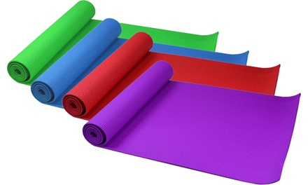 Regular or Large Fitness Yoga Exercise and Pilates Mat