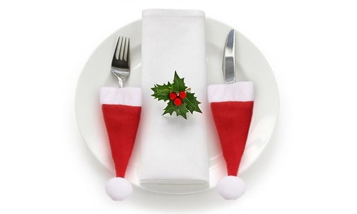 Fino a 82% su Portaposate a cappello Babbo Natale  15842ccc0796