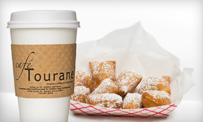 Cafe Tourane - Garden Grove: Organic Coffee and Café Fare at Cafe Tourane (Up to 52% Off)