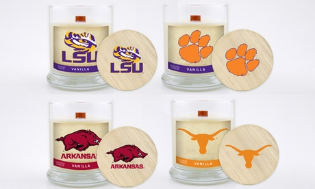 Worthy Promotions NCAA Vanilla Scented Candle