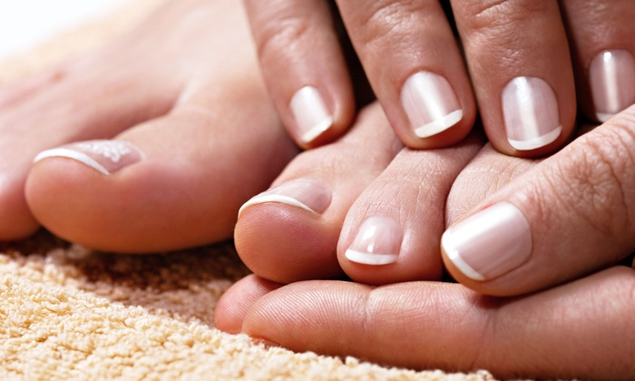 Milan Spa & Nails - Sterling: One or Two Manicures and Pedicures at Milan Spa & Nails (Up to 55% Off)