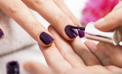 image for One, Two, or Three Gel Manicures at The Hair Connection (Up to 33% Off)