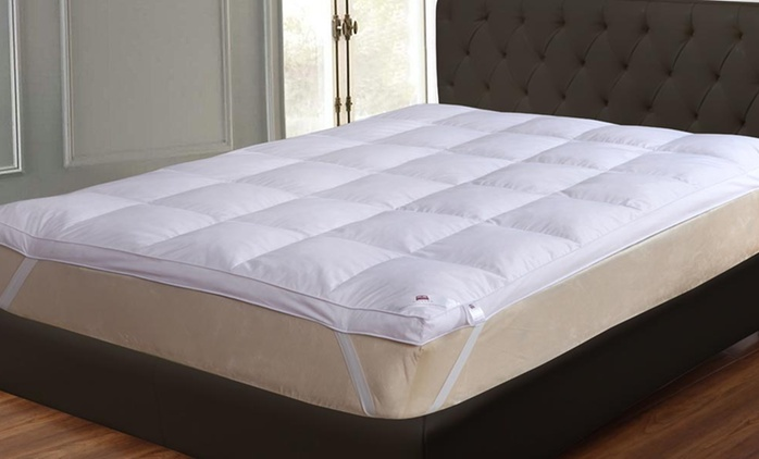 Dickens 9cm Goose Feather and Down Mattress Topper in Choice of Size from £22.99 (Up to 83% Off)