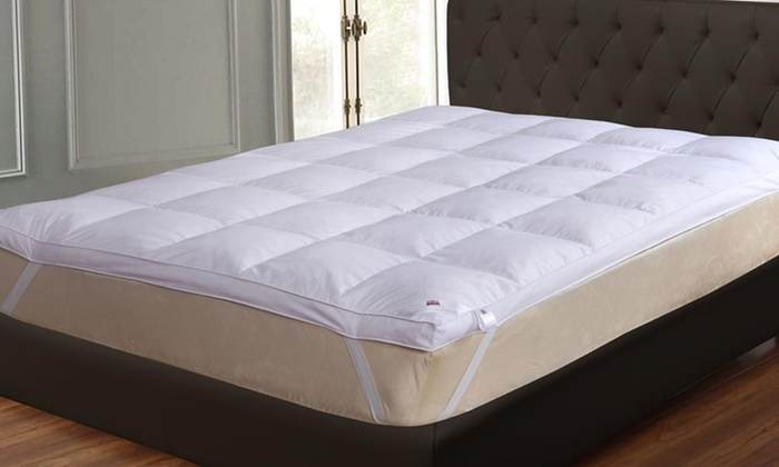Dickens 9cm Goose Feather and Down Mattress Topper in Choice of Size for £21.98