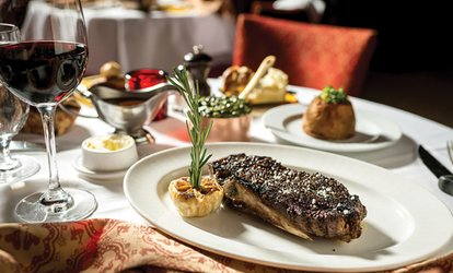image for British Meal with Wine for Two or Four at The Lock Restaurant at DoubleTree Hilton Leeds (Up to 57% Off)