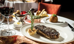 The Lock Restaurant @ DoubleTree Hilton Leeds: British Meal with Wine for Two or Four at The Lock Restaurant at DoubleTree Hilton Leeds (Up to 57% Off)