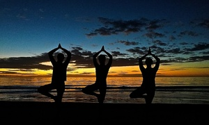 Beach Yoga Pinellas: 10 or 20 Yoga Classes or One Month of Unlimited Classes from Beach Yoga Pinellas (Up to 75% Off)