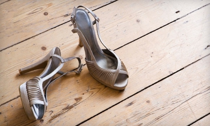 Cobblestone Shoe Hospital - Multiple Locations: Men's Heel Replacement or $10 for $20 Worth of Women's Heel Repair or Luggage Repair at Cobblestone Shoe Hospital