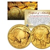 2017 24K-Gold-Plated Buffalo Indian Tribute Coin