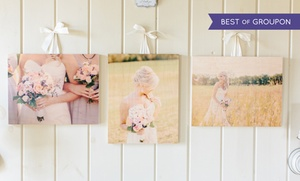 Photobarn: Custom Prints on Wood from PhotoBarn (Up to 75% Off). Three Options Available.