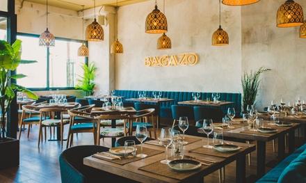 Menú para 2 o 4 personas con entrante, principal, postre y bebida desde 24,99 € en Bagazo