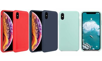 Liquid Silicone Case for iPhone 7/7 Plus/8/8 Plus/X/XR/XS/XS Max