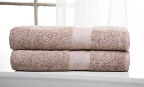 100% Cotton 600GSM Bath Towels: 2pc (oversized sheets) or 16pc